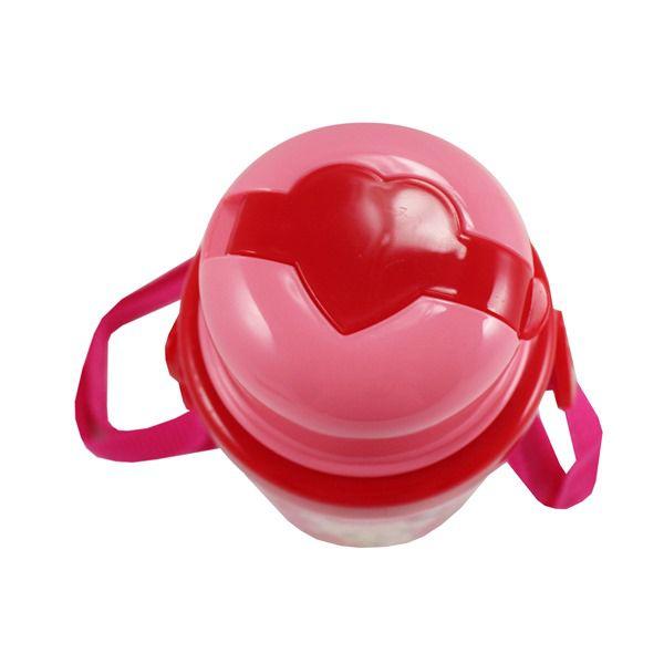 Squeeze 450ml Infantil - Urso Pink