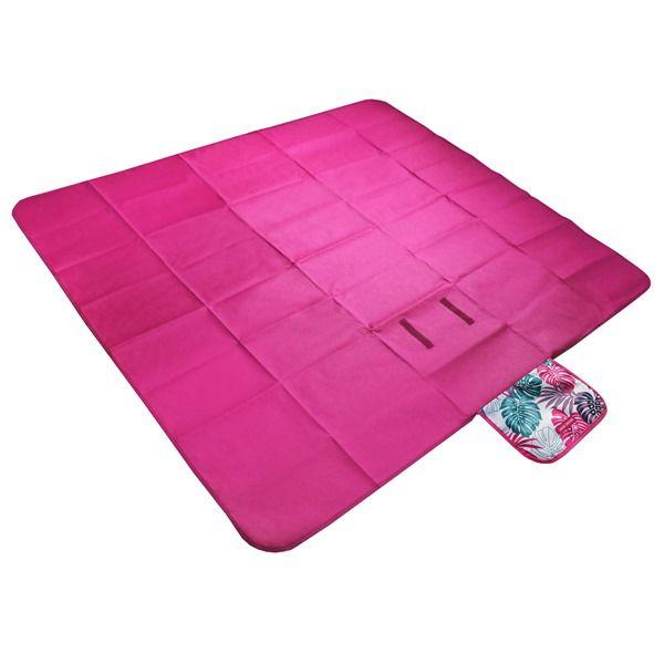 Tapete p/ Piquenique Impermeável Pink