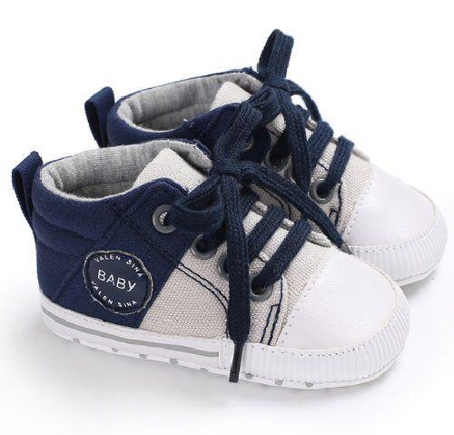 TENIS BABY - Branco/Azul