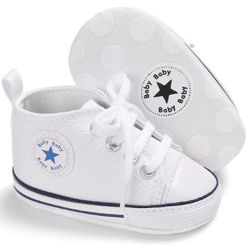TENIS BABY STAR - Branco