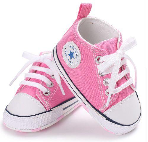TENIS BABY STAR - Rosa