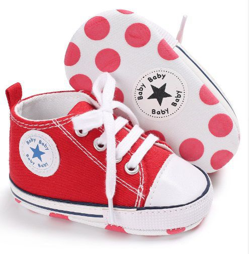 TENIS BABY STAR - Vermelho
