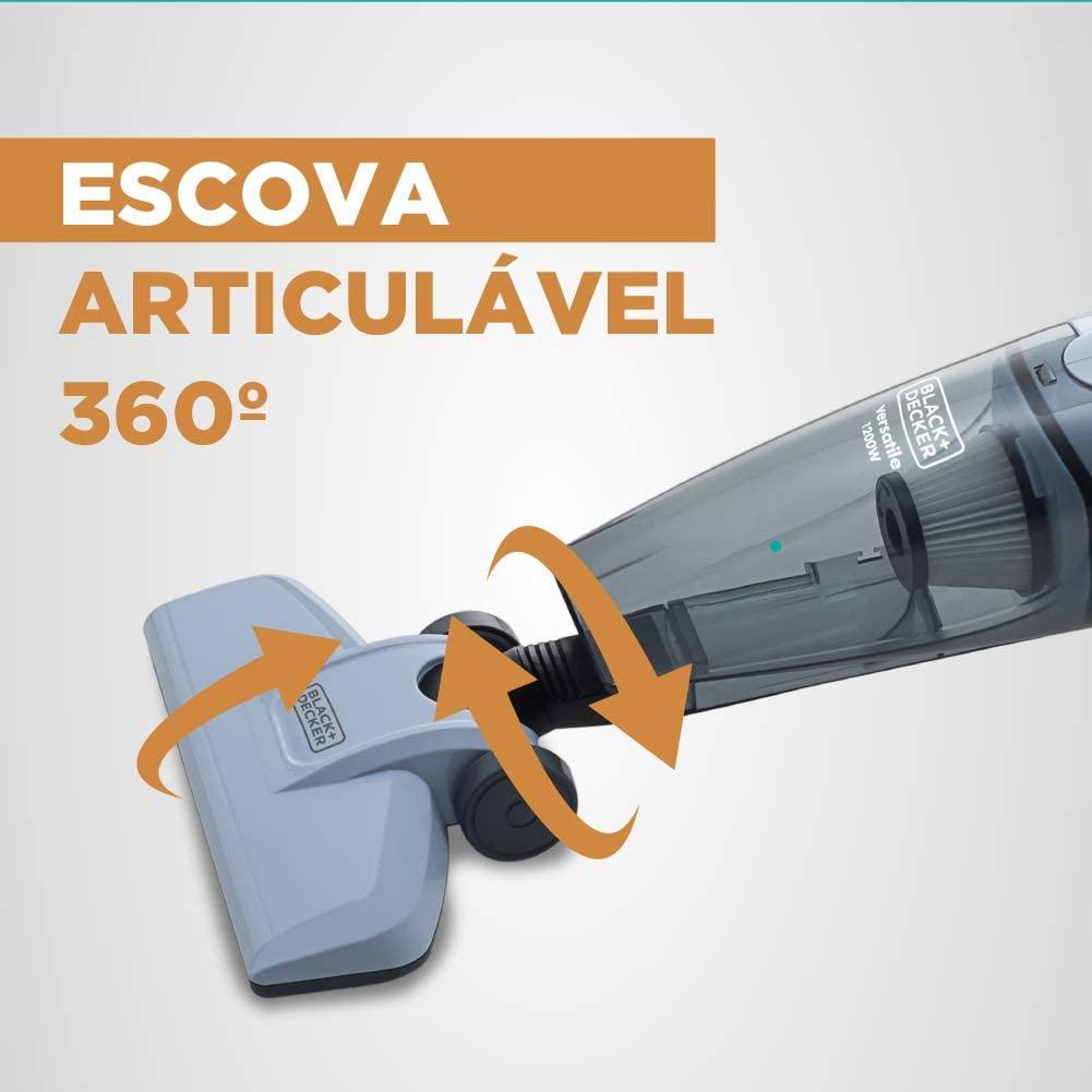 ASPIRADOR DE PÓ VERTICAL CICLÔNICO 1200W BRANCO 127V - AV12