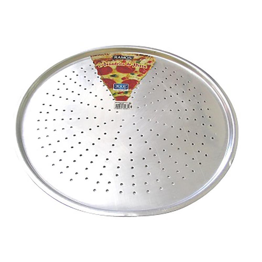 ASSADEIRA PARA PIZZA AERADA ALUMÍNIO RAMOS 35CM - 465-1