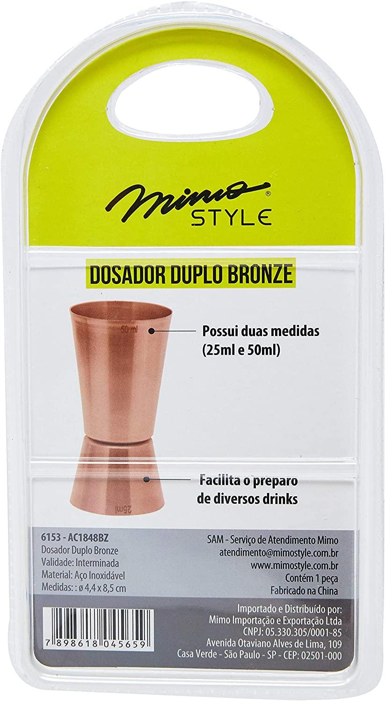 DOSADOR DUPLO MIMO STYLE BRONZE - 6153