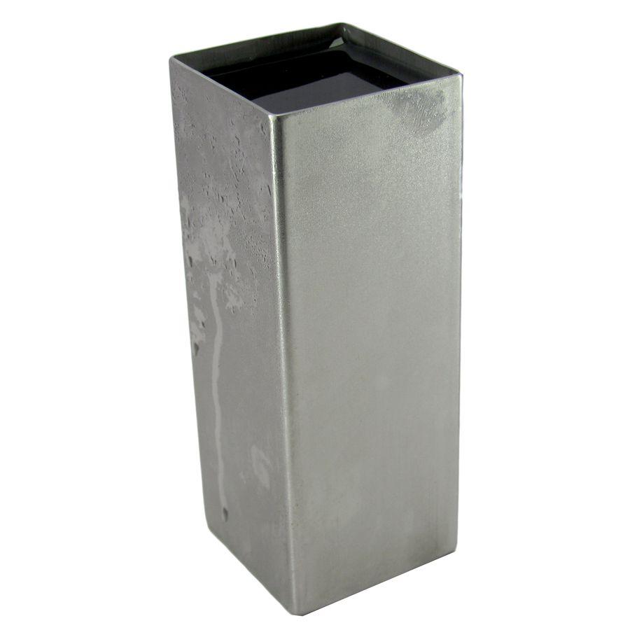5 Copos Quadrado Aço Inox 304 Para Tereré Gelado