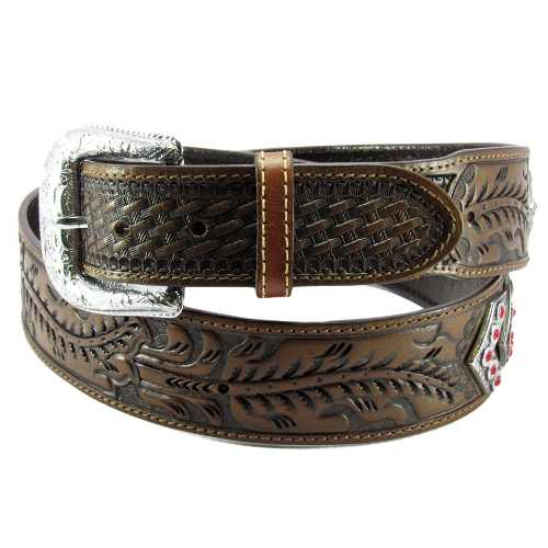 Cinto Pbr Country Masculino Margarida Com Strass