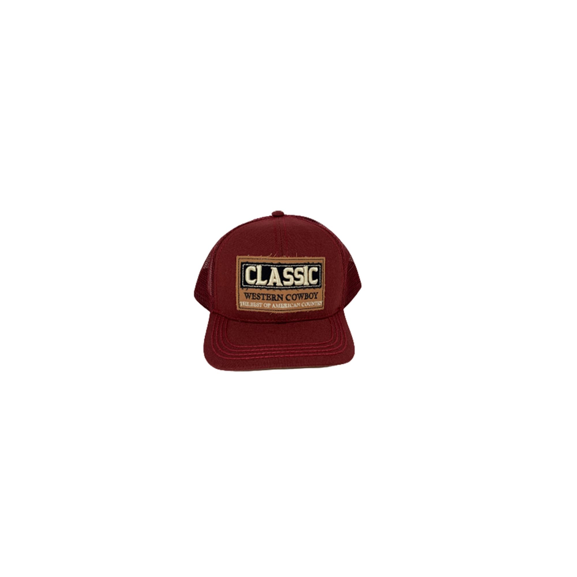 Boné Classic Vinho Classic006