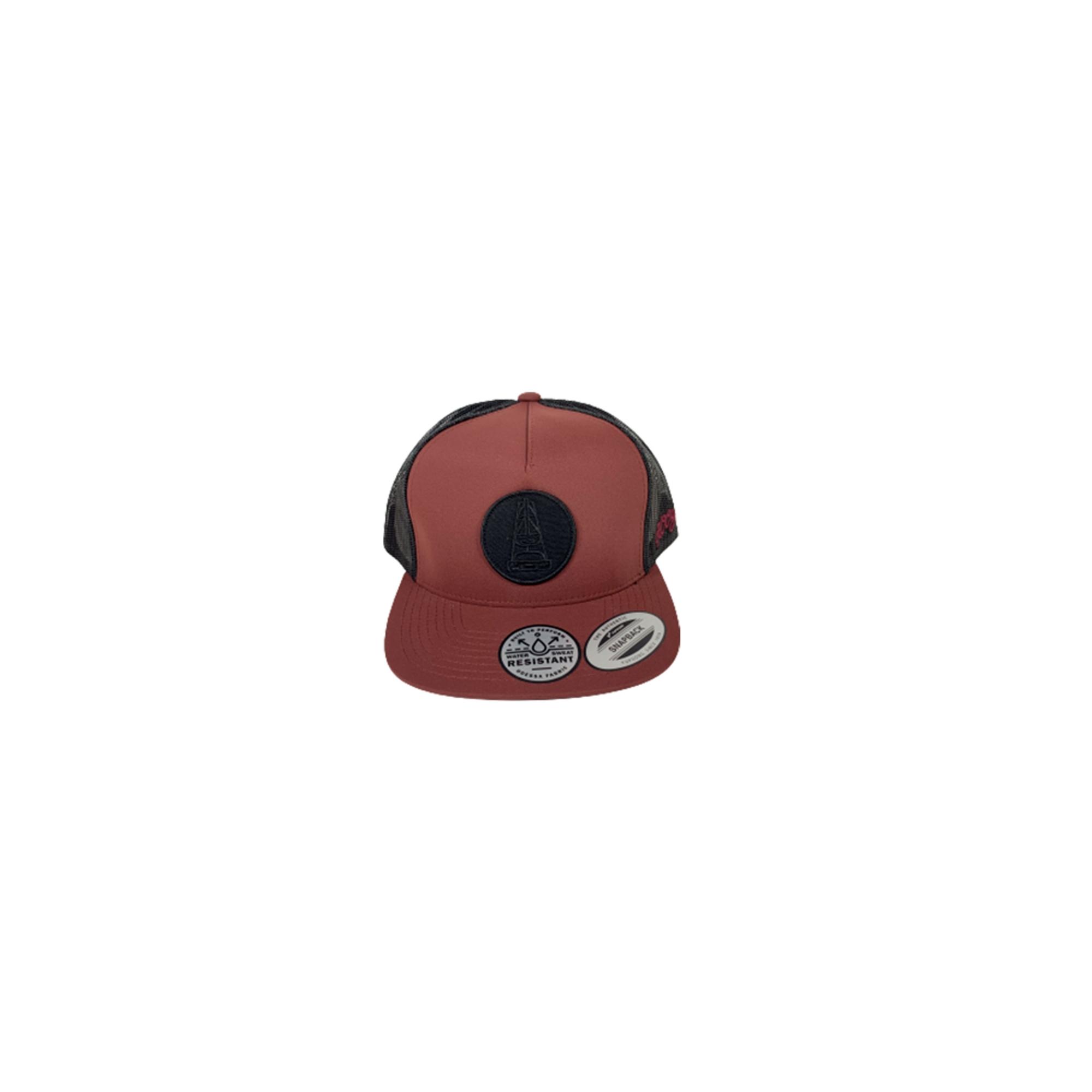 Boné Hooey Hog Marn/Gry 5P TRK Osfa 3029T-MABK