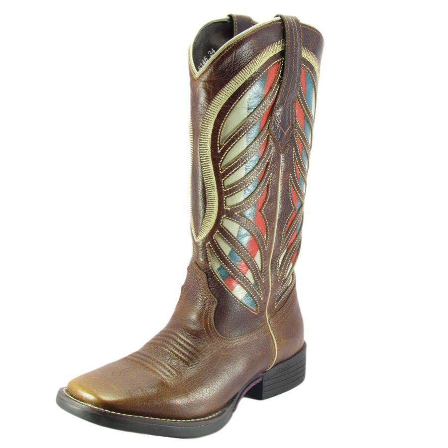Bota Texana Feminina Havana West Country - Cowboy BR ff647f65777