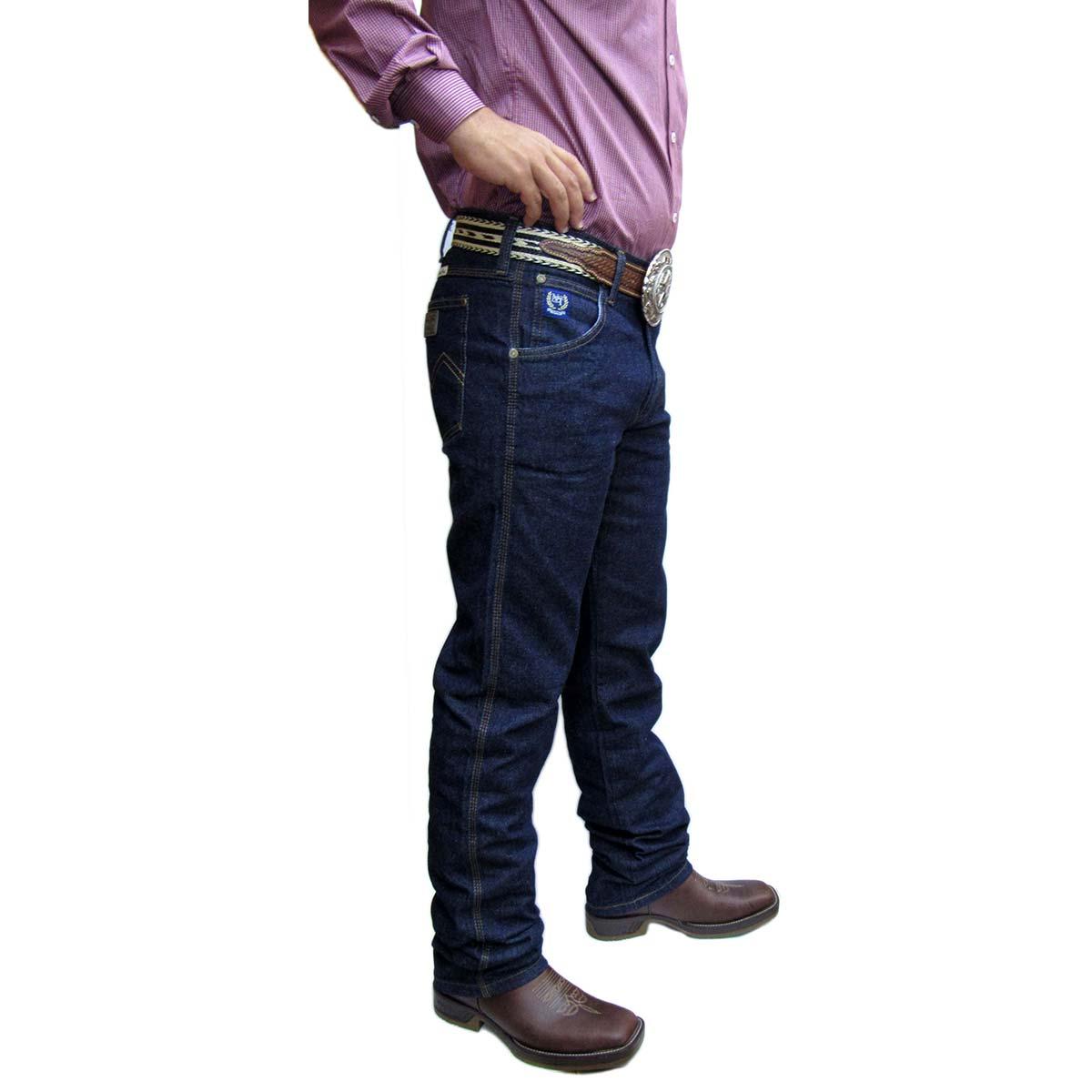 4f277d68e1 Calça Jeans Country Masculina Black Escura Tradicional Nossa Terra ...