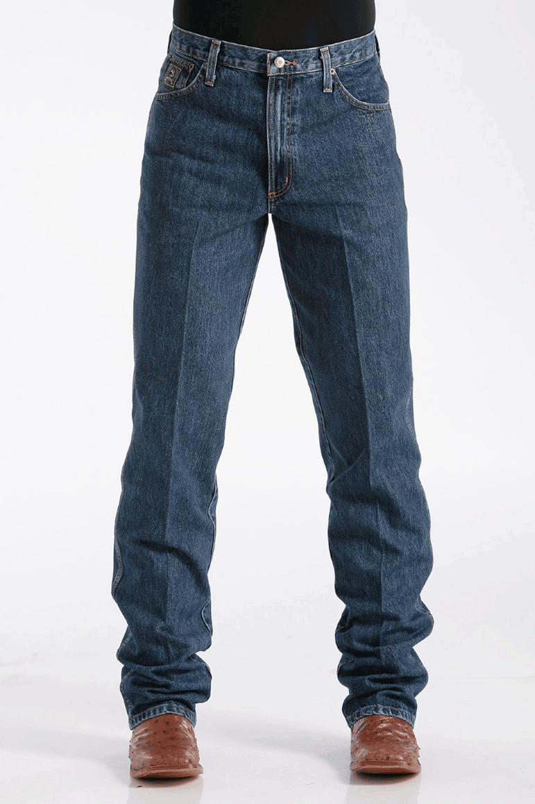 Calça Jeans Importada Cinch Green Label Escura