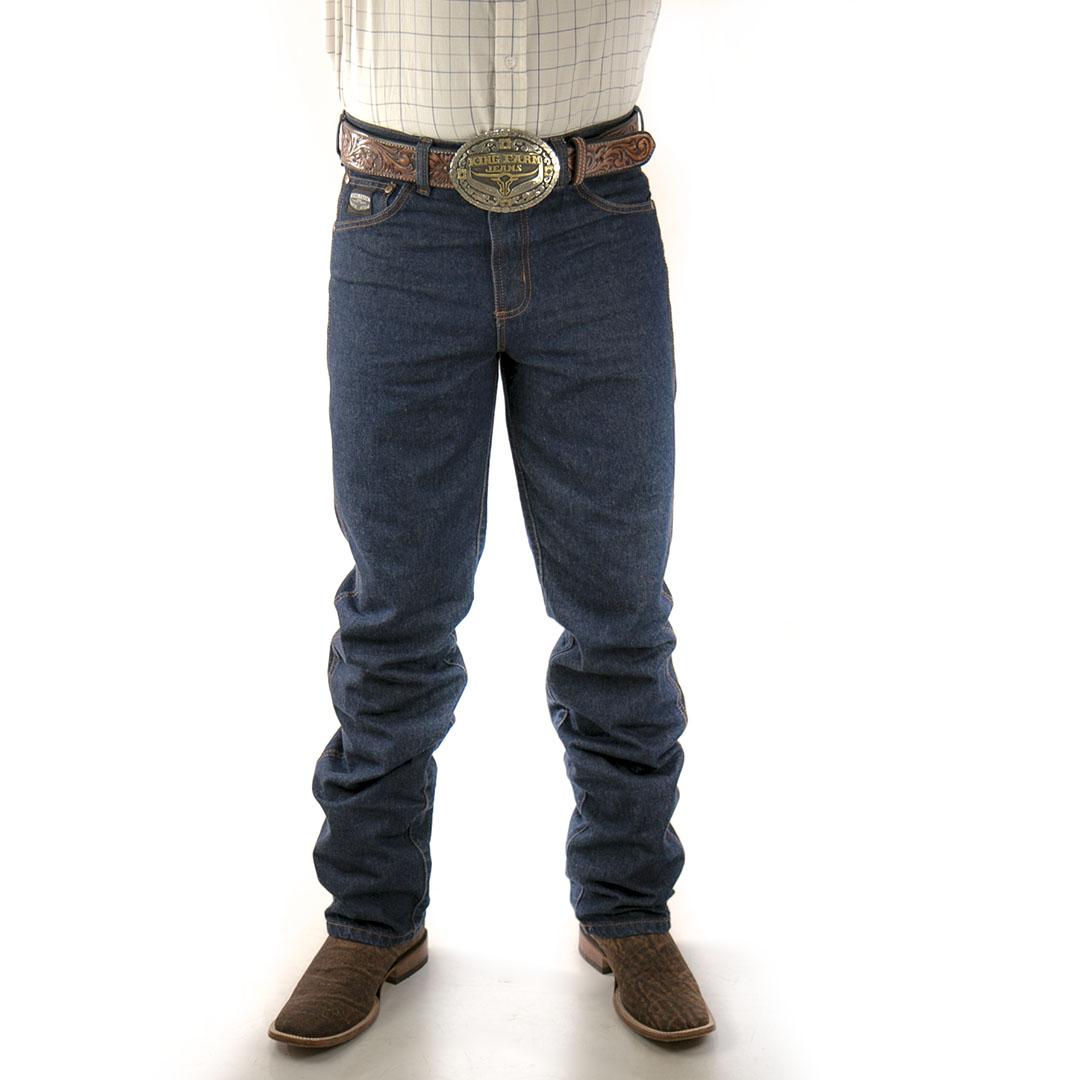 Calça Jeans King Farm Black Original Fit 100% Algodão