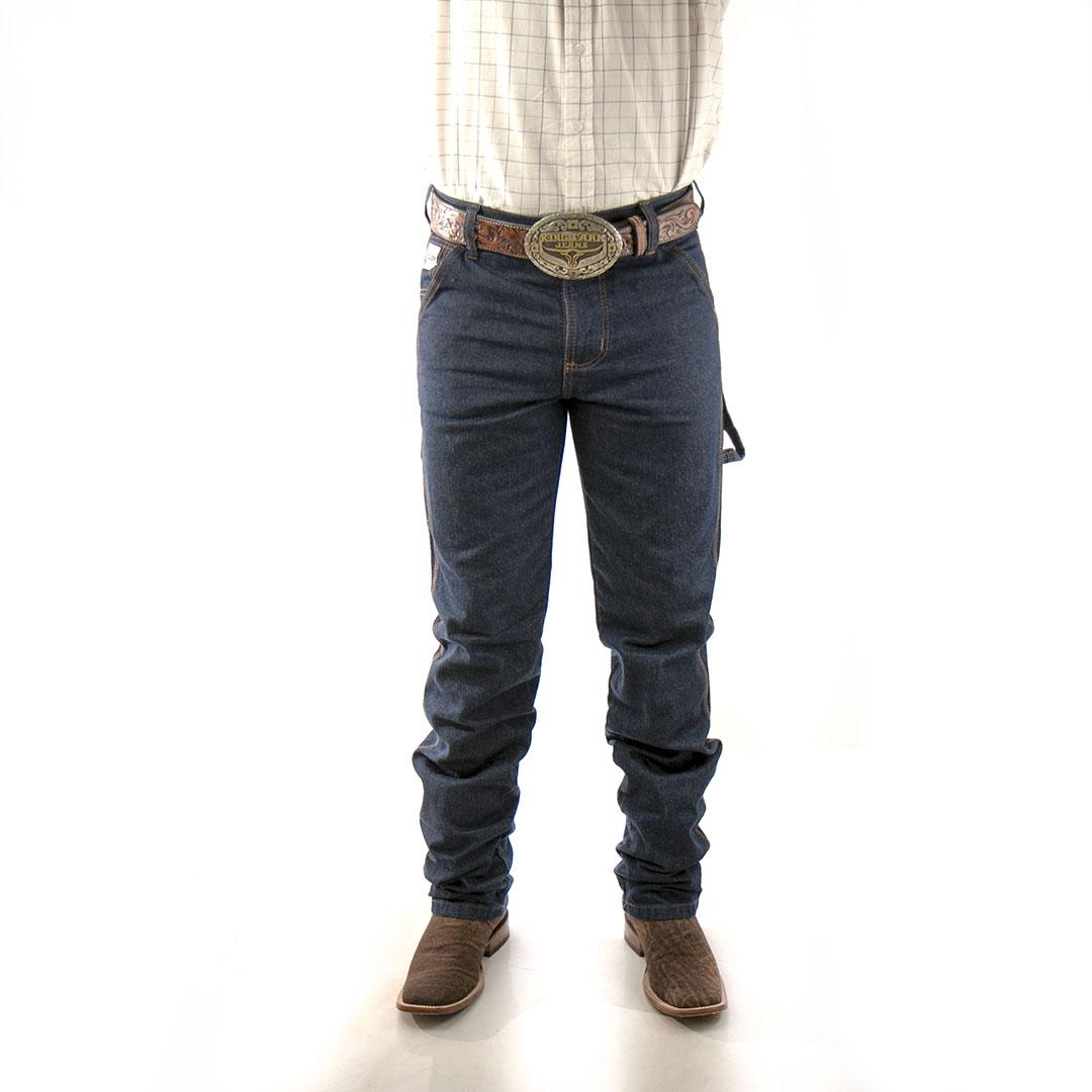 Calça Jeans King Farm Carpinteira Black
