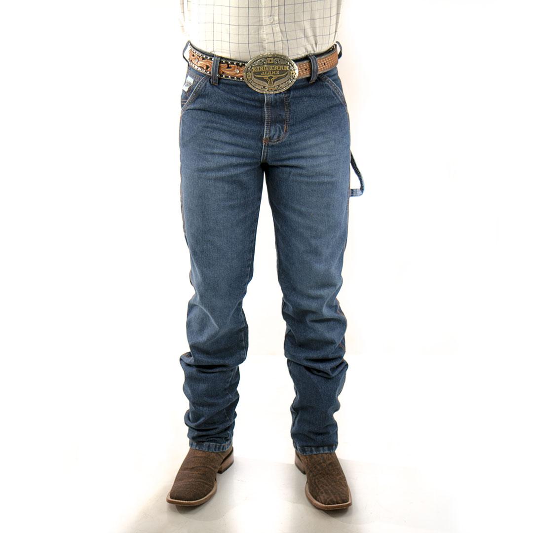 Calça Jeans King Farm Carpinteira Blue