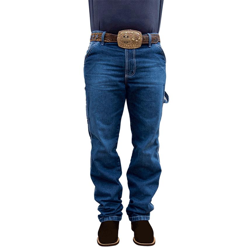 Calça Jeans King Farm Carpinteira Bronze