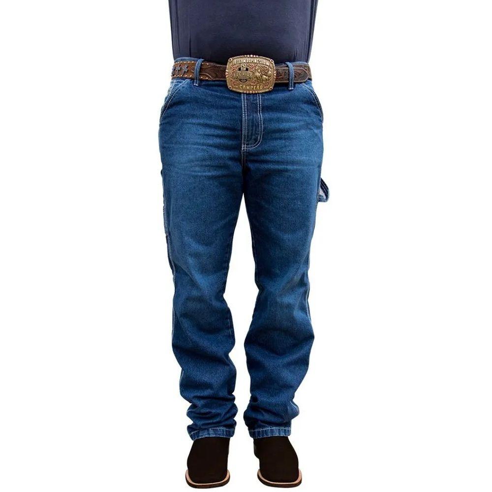 Calça Jeans King Farm Carpinteira Bronze Country