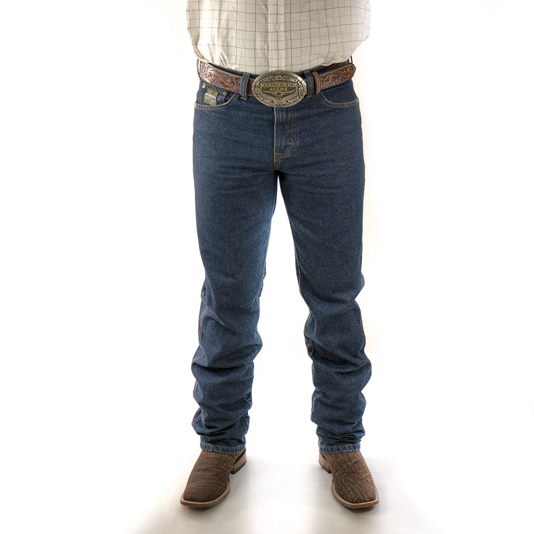 Calça Jeans King Farm Green Original Fit 100% Algodão