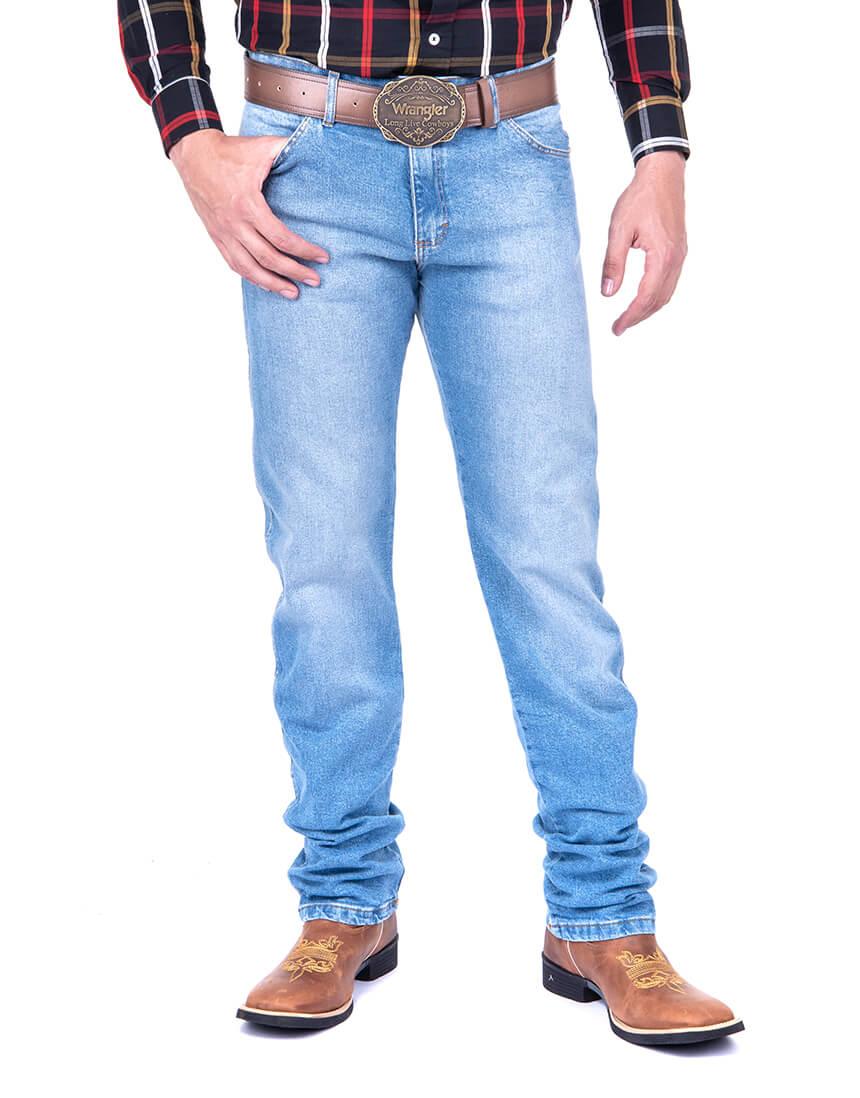 Calça Jeans Masculina Wrangler 13M com Elastico 13MS60436UN