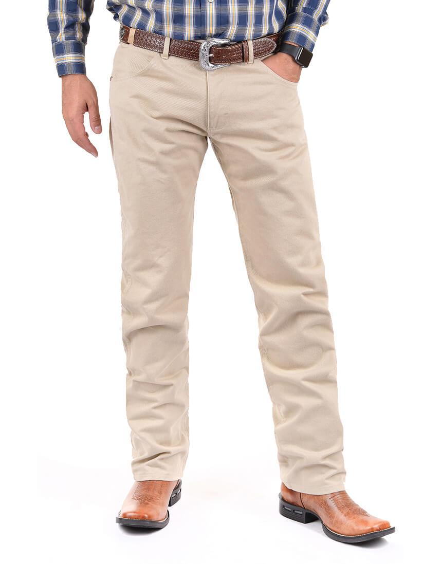 Calça Jeans Masculina Wrangler 13M de Brim Gelo 13MWZTN36