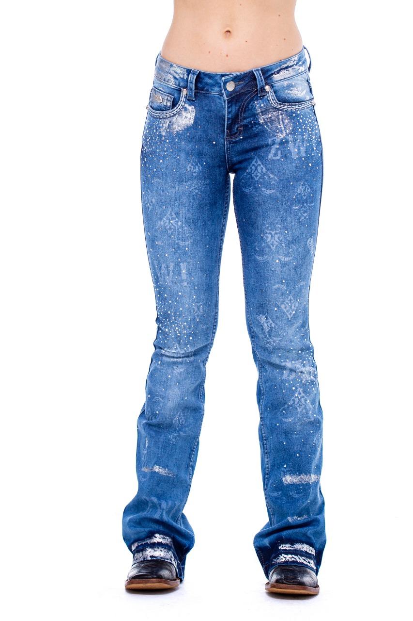 Calça Jeans Zenz Western America