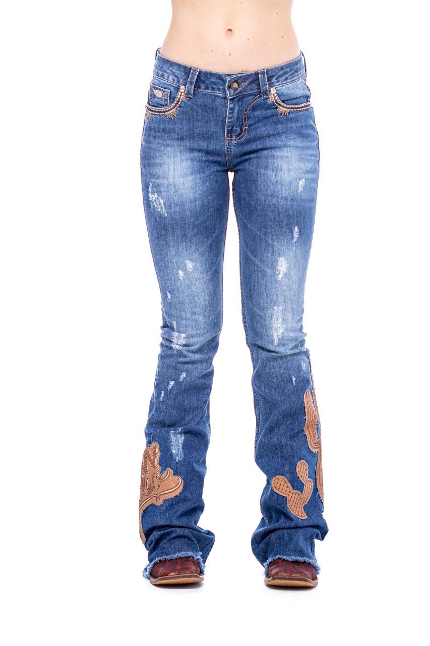 Calça Jeans Zenz Western Deserts Hills