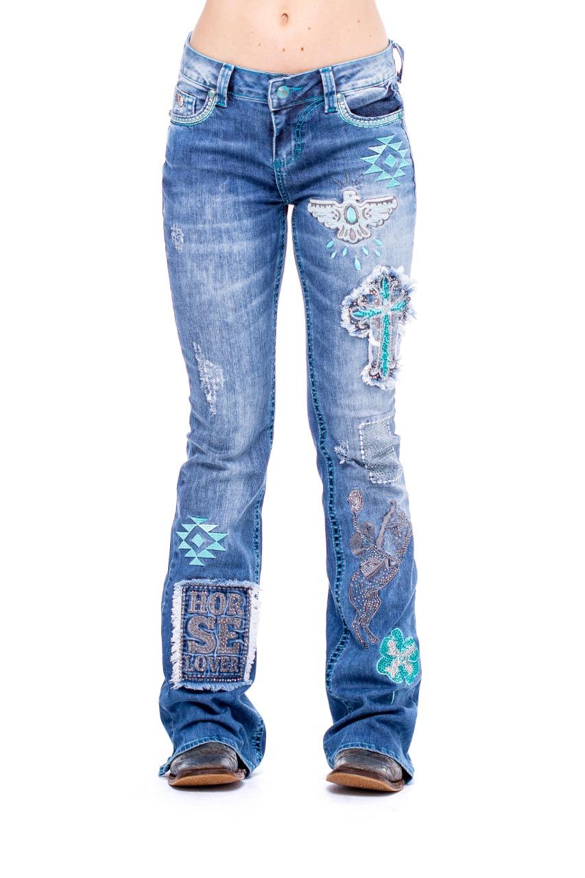 Calça Jeans Zenz Western Fabulous