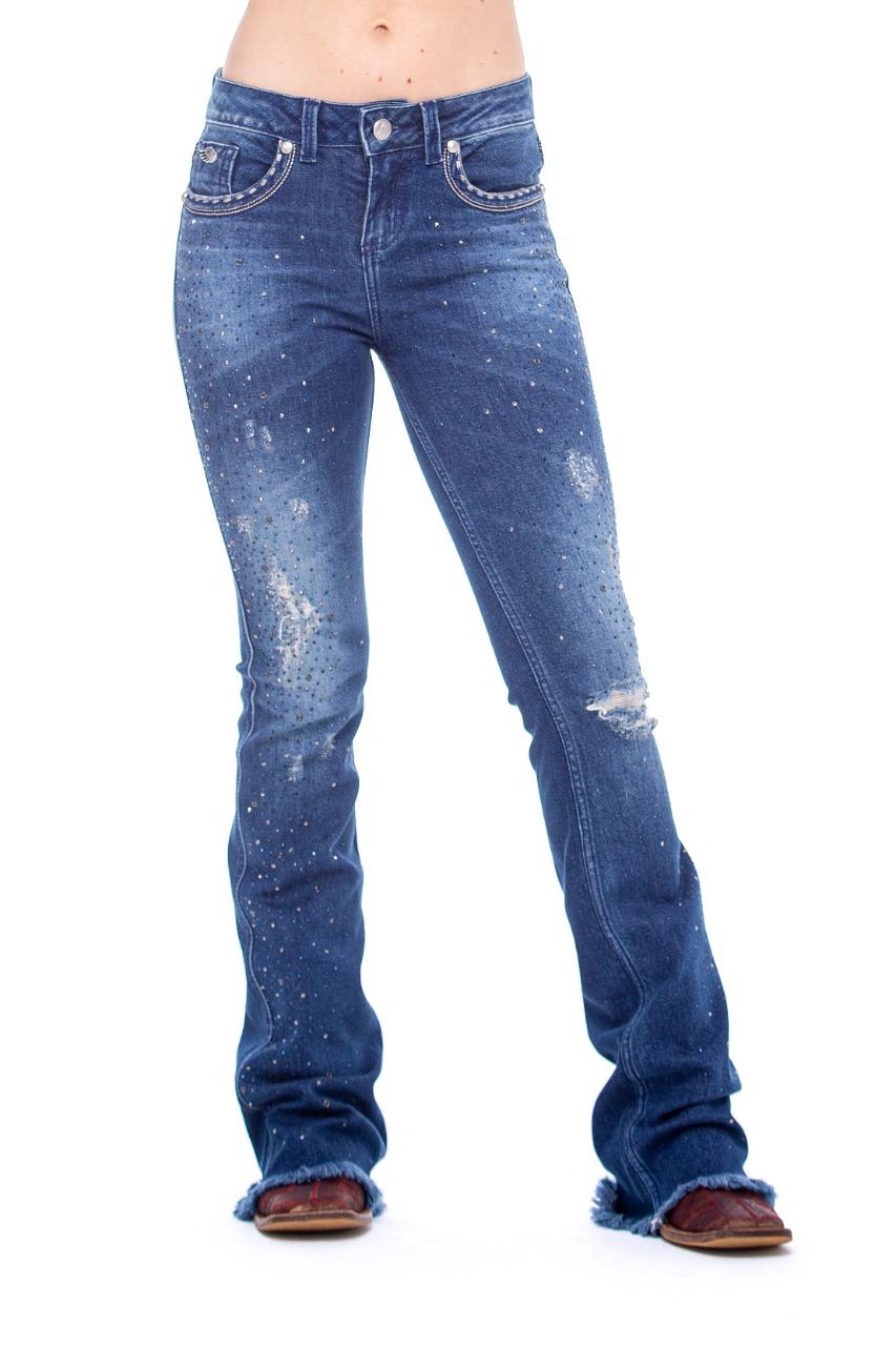 Calça Jeans Zenz Western Golden & Silver