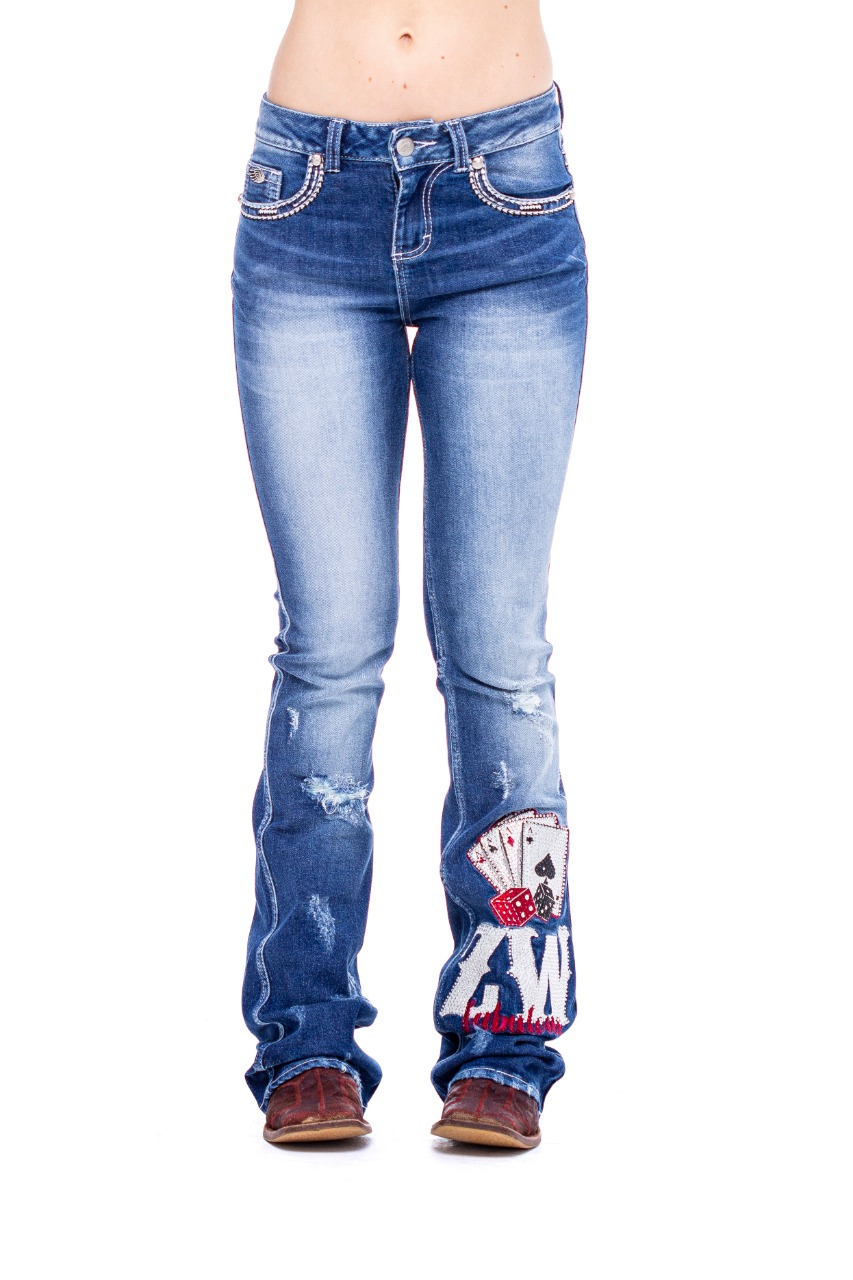 Calça Jeans Zenz Western Royale