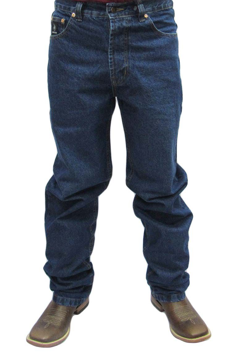 Calça Masculina Indian Farm Black Jeans Grosso