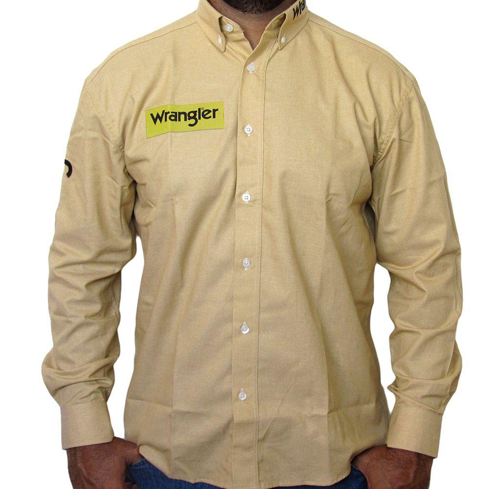 Camisa Wrangler Amarela Top 8011
