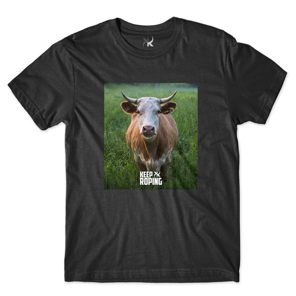 Camiseta Masculina Keep Roping Boi