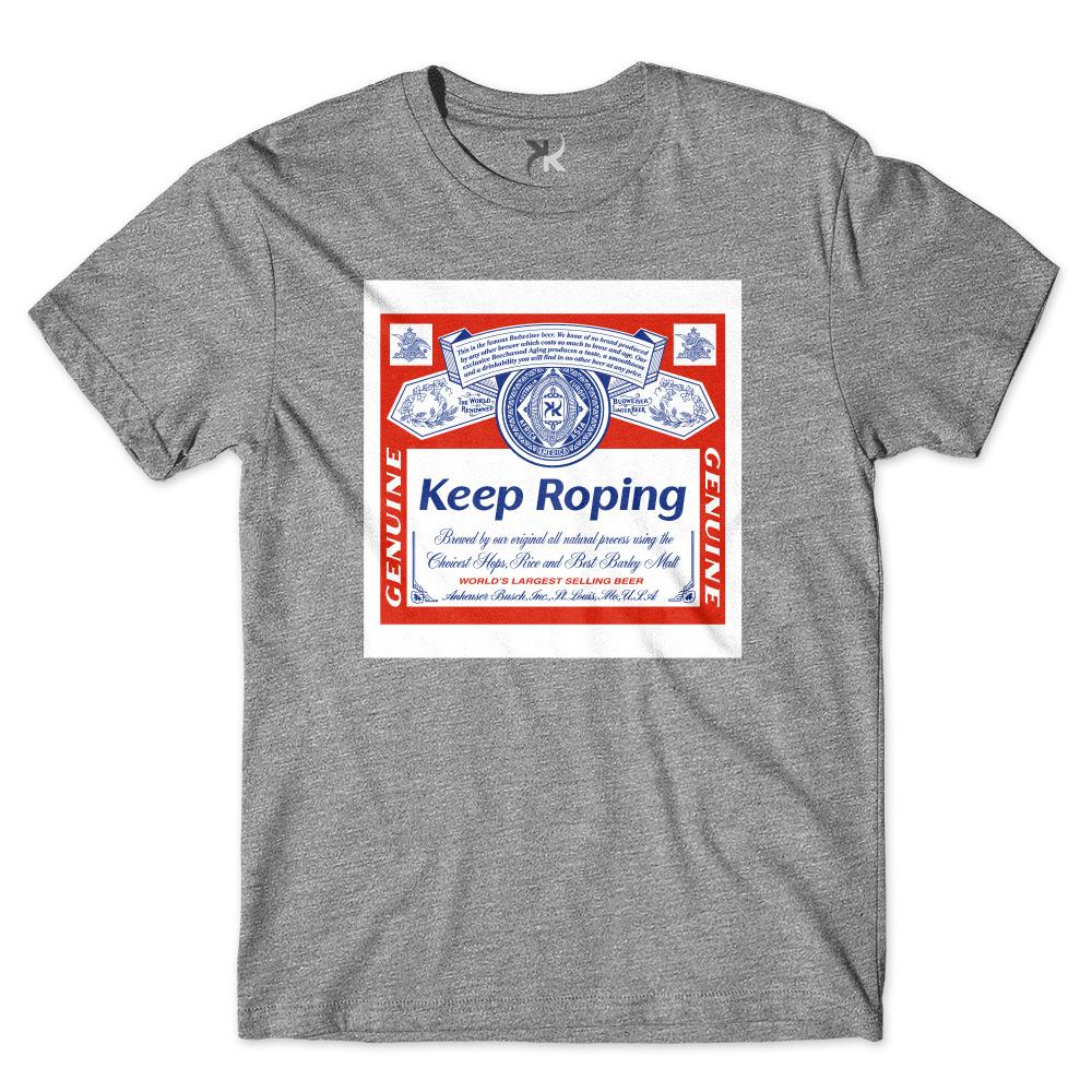 Camiseta Masculina Keep Roping Budweiser