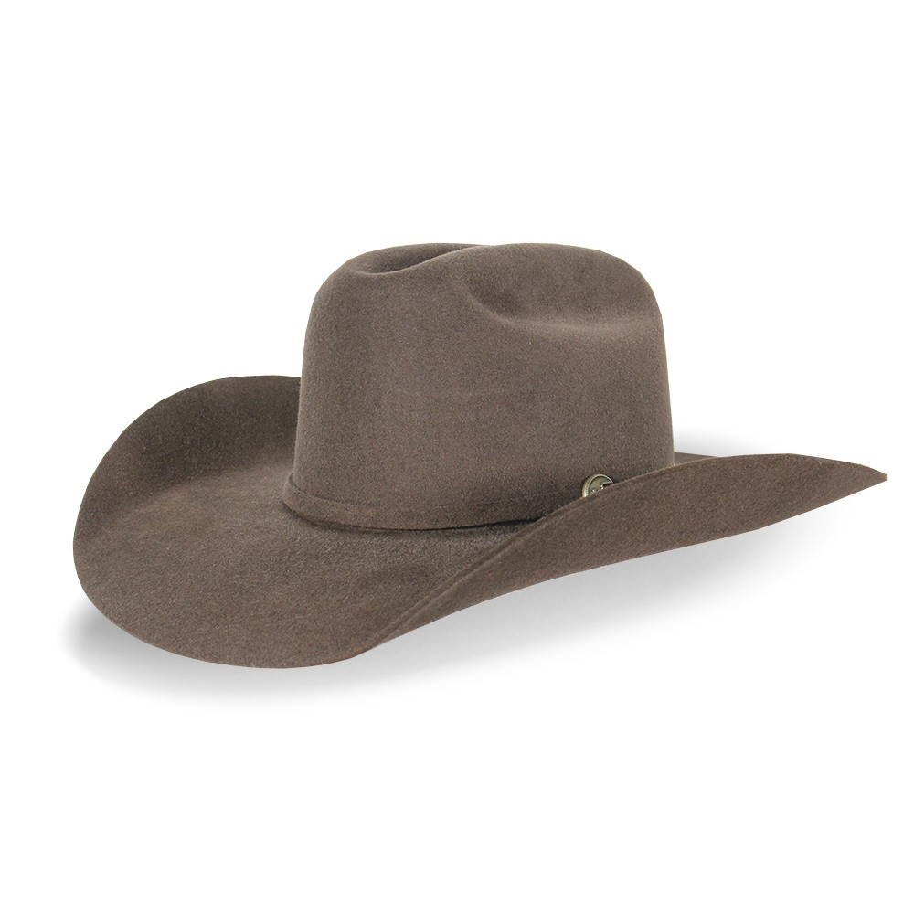 Chapéu Eldorado Cattleman Lã Marrom
