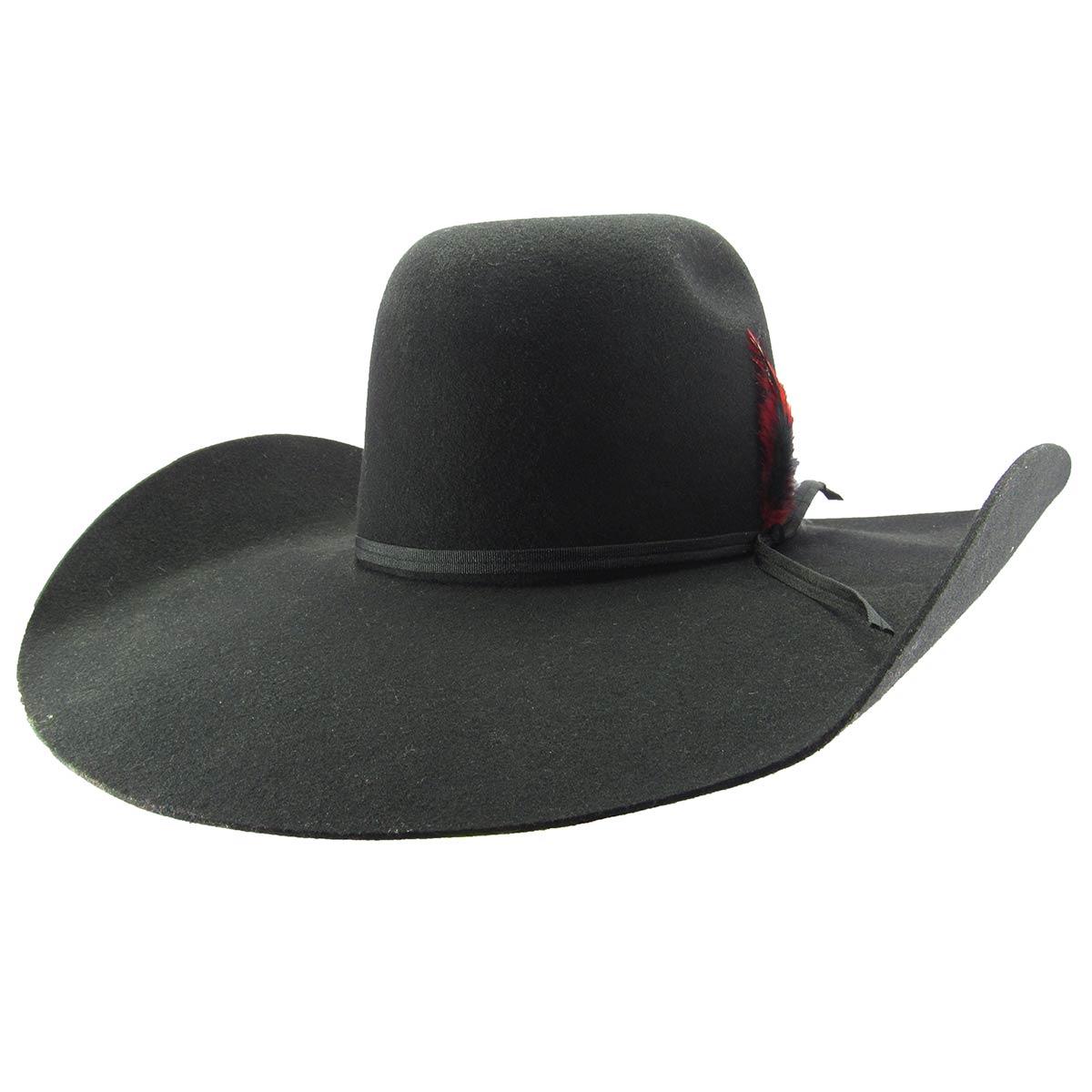 Chapéu Pralana Champion Biplay Ii Preto Country Aba 13 - Cowboy BR 3899b495e81