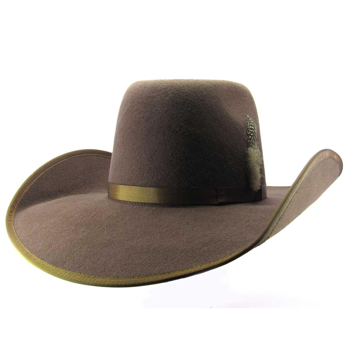 c83d53c577906 Chapéu Pralana Champion Bull Rider Marrom Country Aba 12 - Cowboy BR