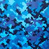 Camuflado Azul