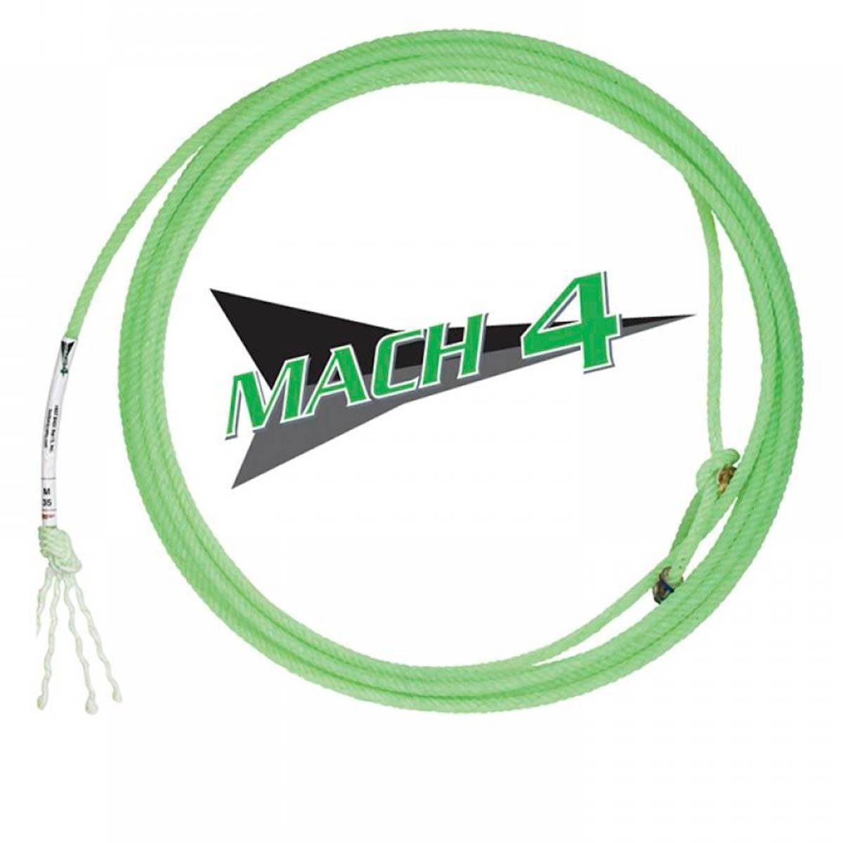 Corda Laço Fast Back Mach 4 Tentos Para Team Roping