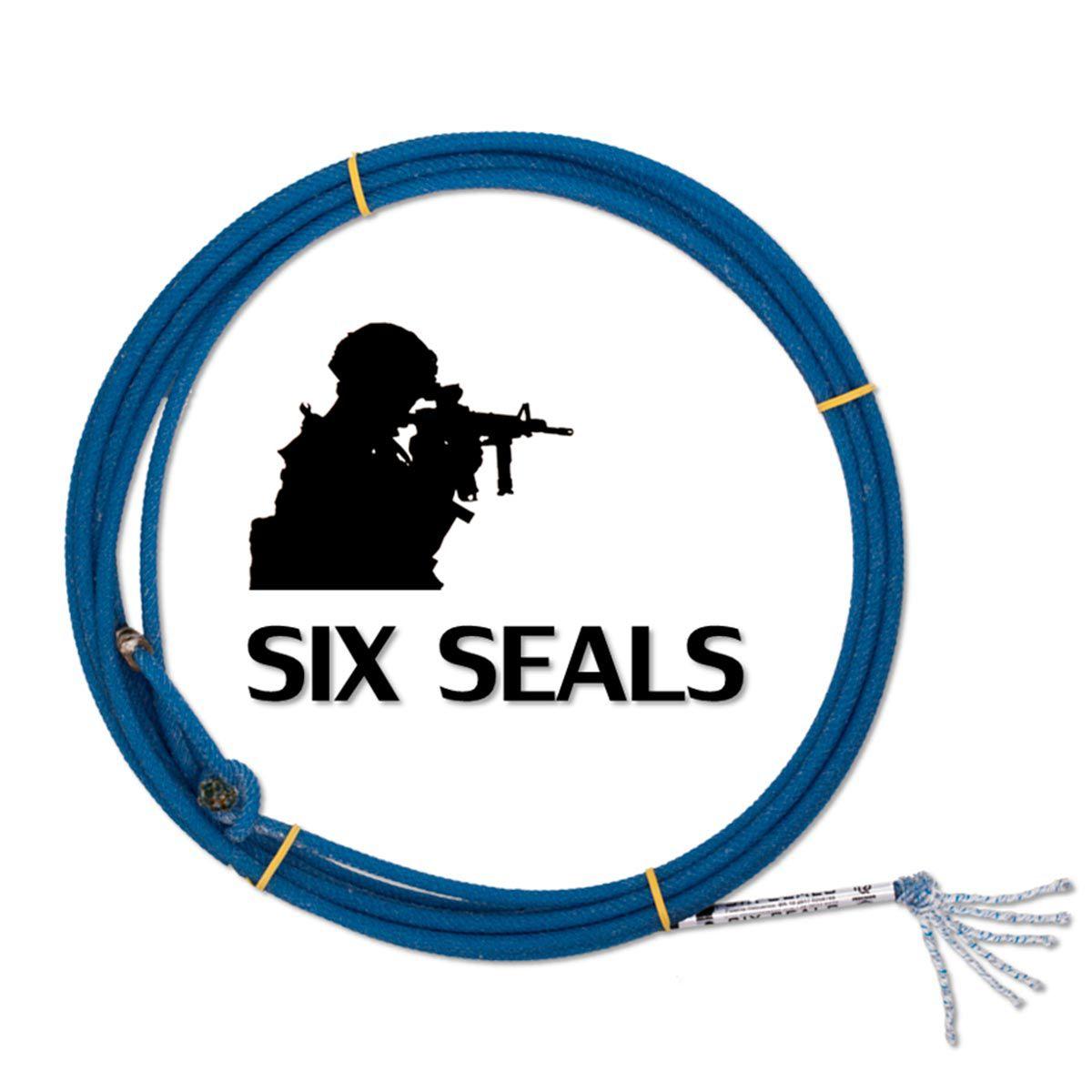 Corda Laço Precision 6 Tentos Six Seals Para Team Roping