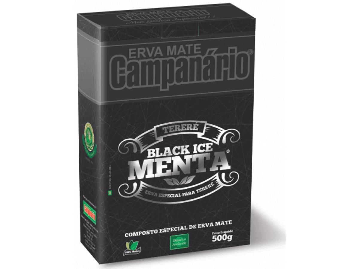 Erva Mate Tereré Campanário Black Ice Menta 500gr