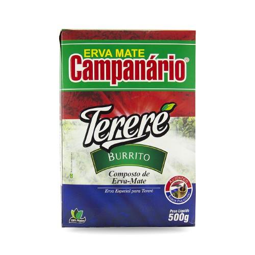Erva Mate Tereré Campanário Burrito 500gr