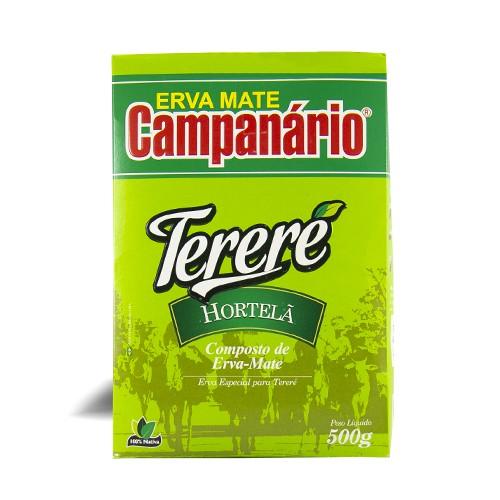 Erva Mate Tereré Campanário Hortelã 500gr