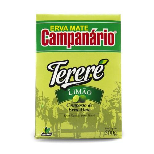 Erva Mate Tereré Campanário Limão 500gr