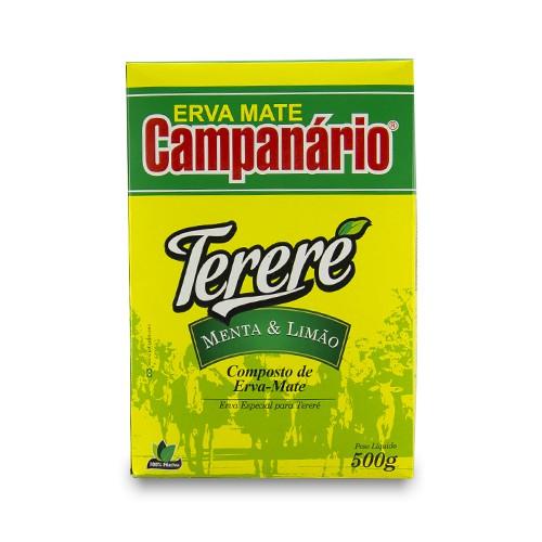 Erva Mate Tereré Campanário Menta e Limão 500gr