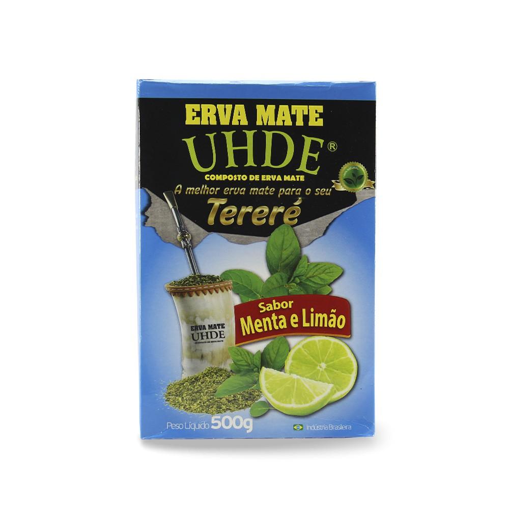 Erva Mate Tereré UHDE Menta e Limão 500gr