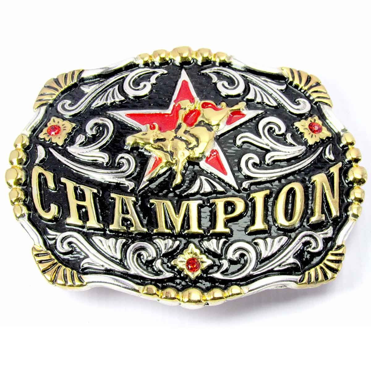 Fivela Country Cowboy Champion Rodeio Para Cinto