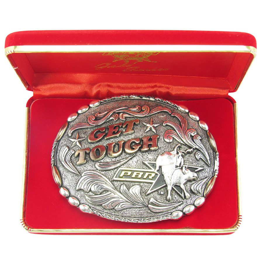 Fivela Pbr Get Tough Gold Series 7008 - Cowboy BR cd2718285bc