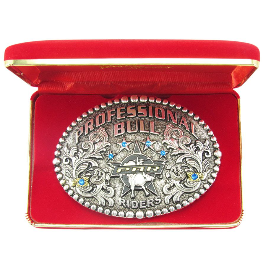 Fivela Pbr Gold Series 3d Professional Bull Riders 7001