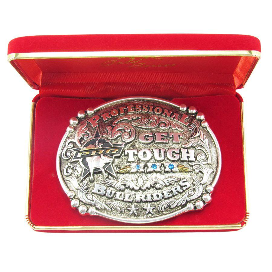 Fivela Pbr Gold Series Get Tough 7006