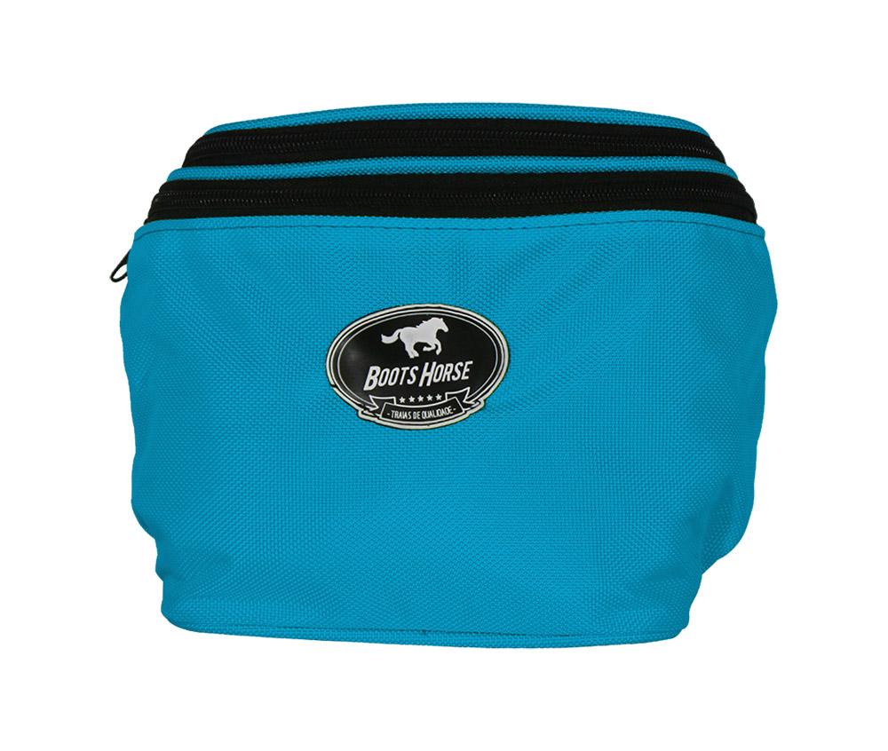 Pochete Azul Turquesa Boots Horse